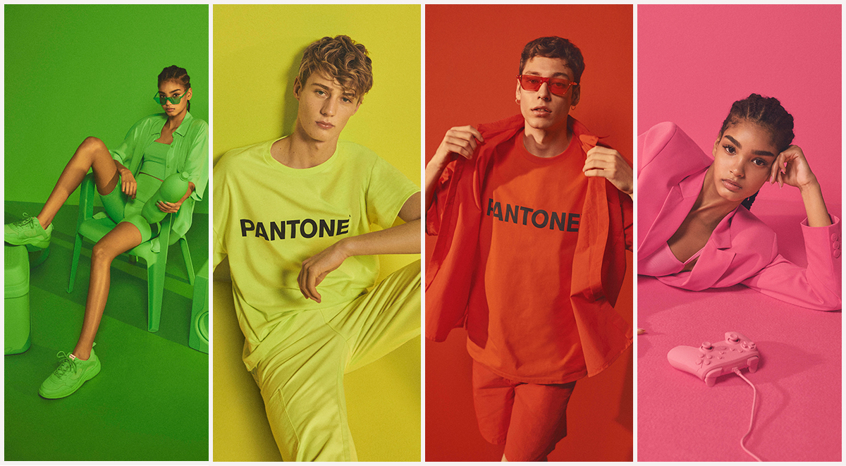 Bershka x Pantone Collection