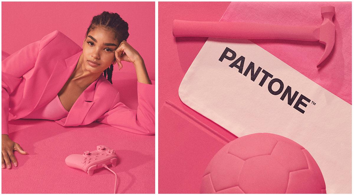 Bershka x Pantone Pink