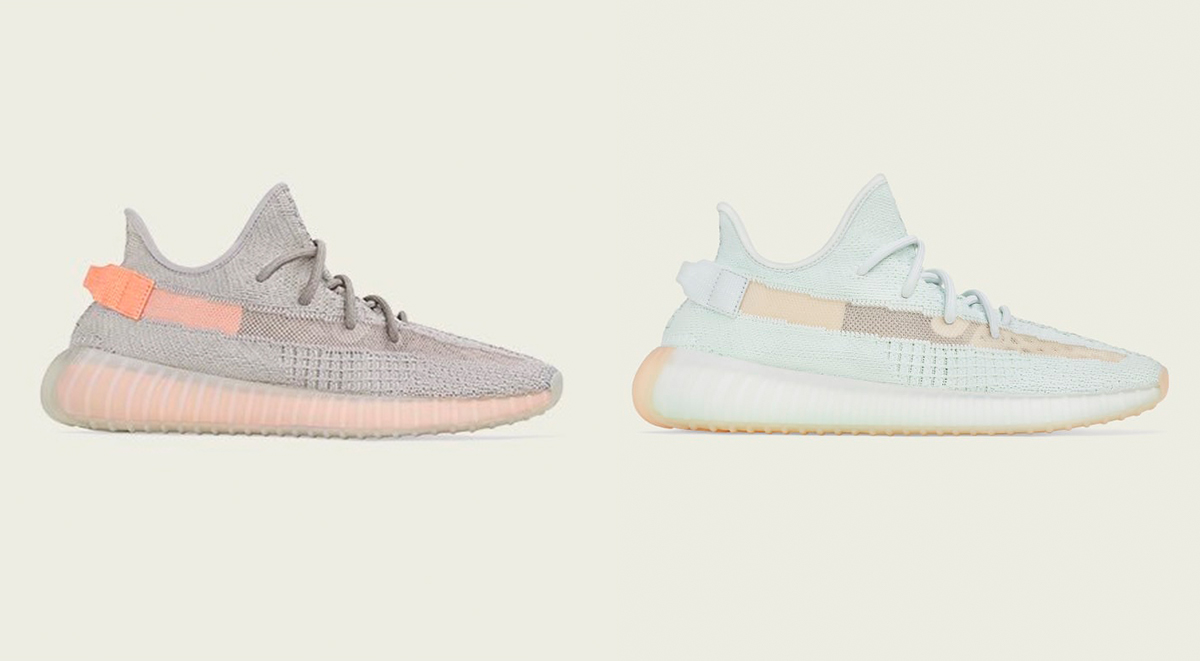 Yeezy 350 V2 True Form and Hyperspace