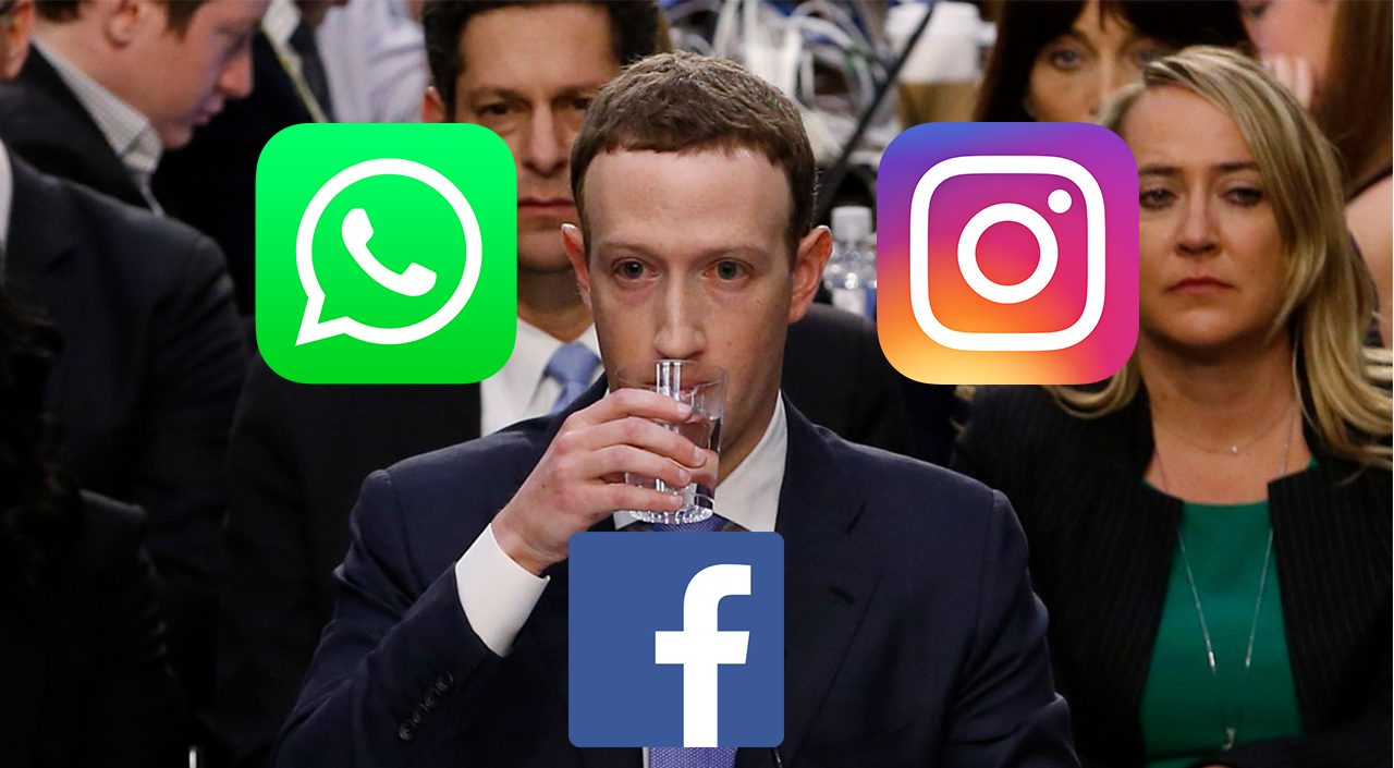 facebook down mark zuckerberg whatsapp instagram