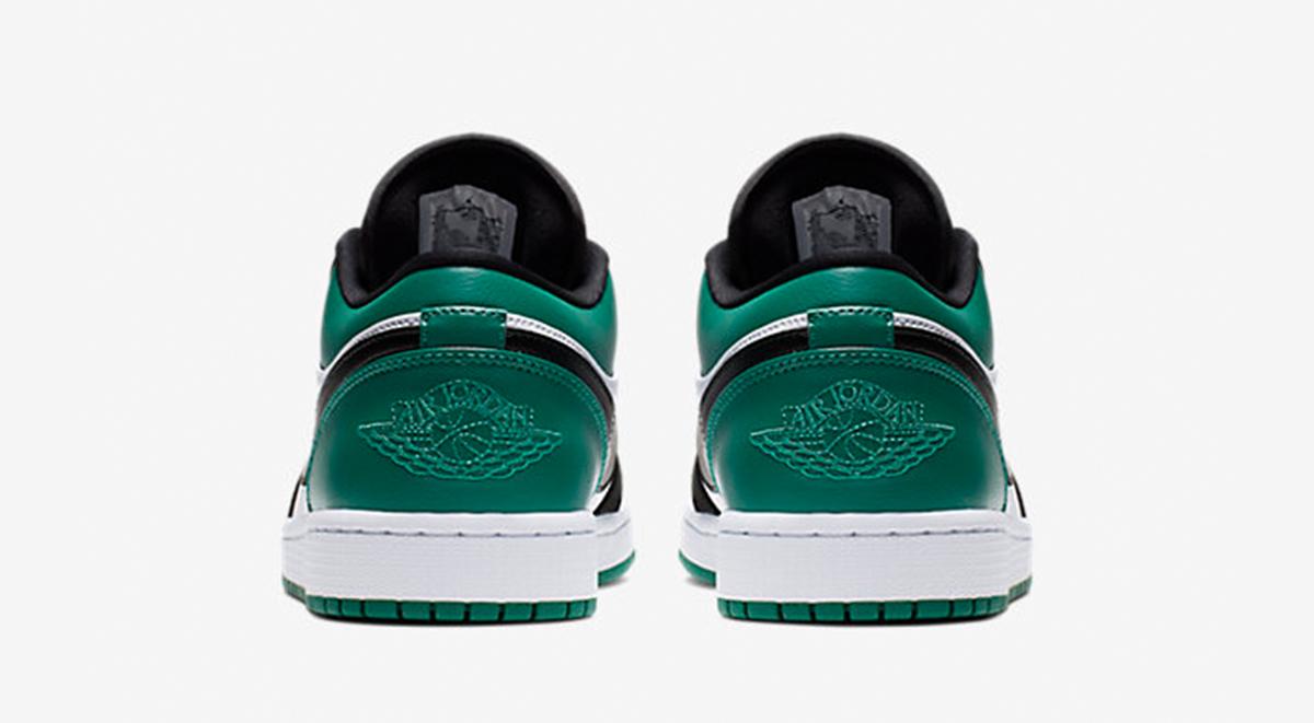 Air Jordan 1 Low Mystic Green back