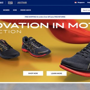 Asics Singapore online store