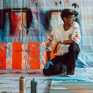 Futura art exhibition in Singapore
