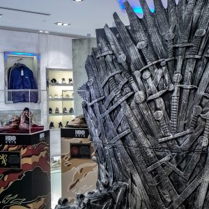 Game of thrones x sbtg sneaker showcase Iron Throne