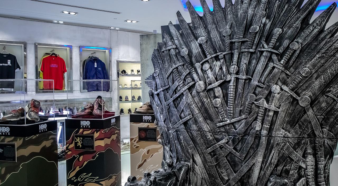 Game of thrones x sbtg sneaker showcase Iron Throne