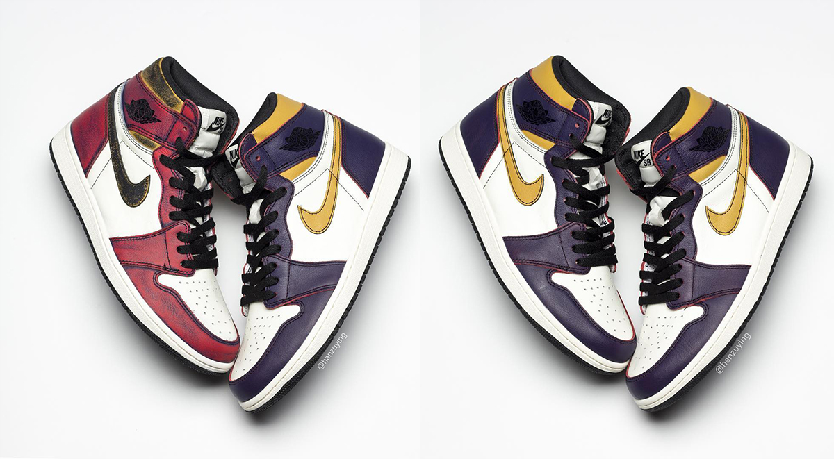 Nike SB x Air Jordan 1 Lakers