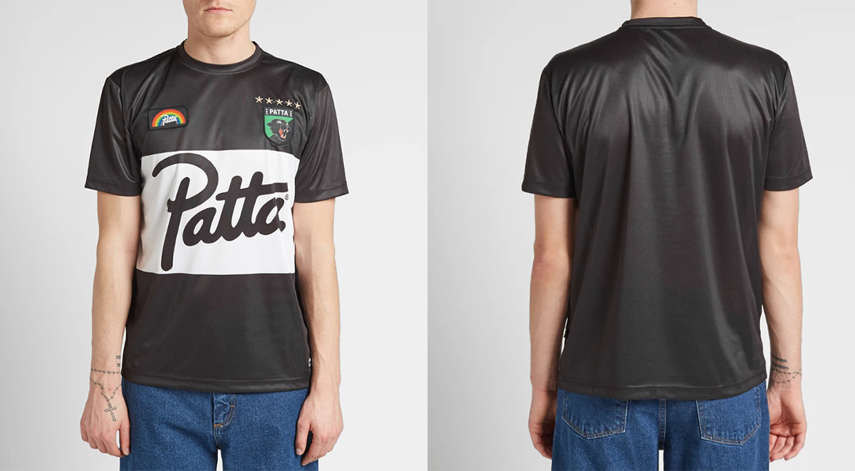 Patta SS19 Football Jersey collection