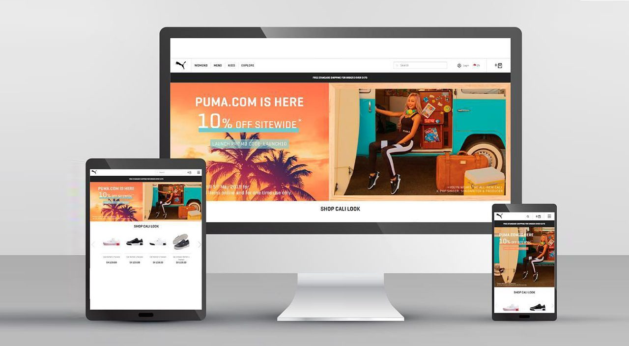 Puma Singapore Online Store launch