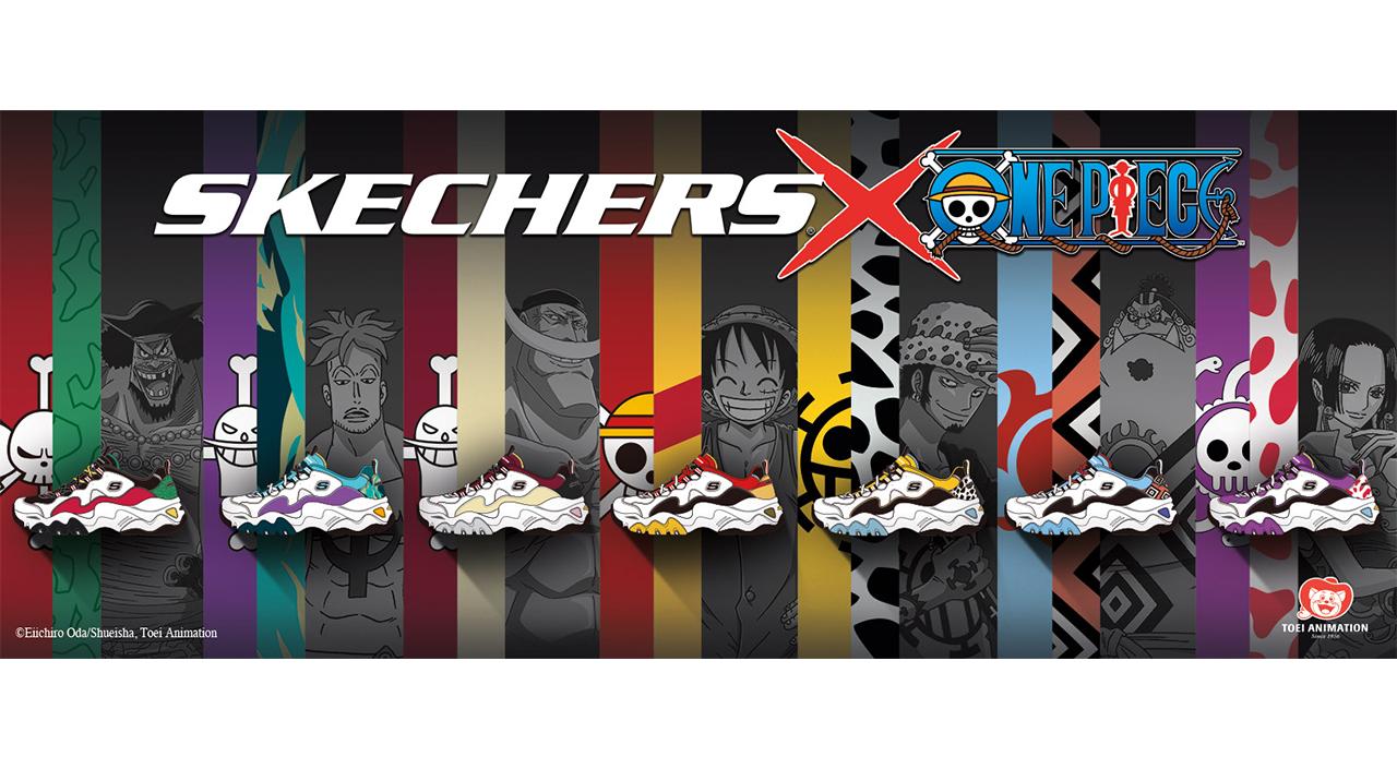 Skechers x One Piece