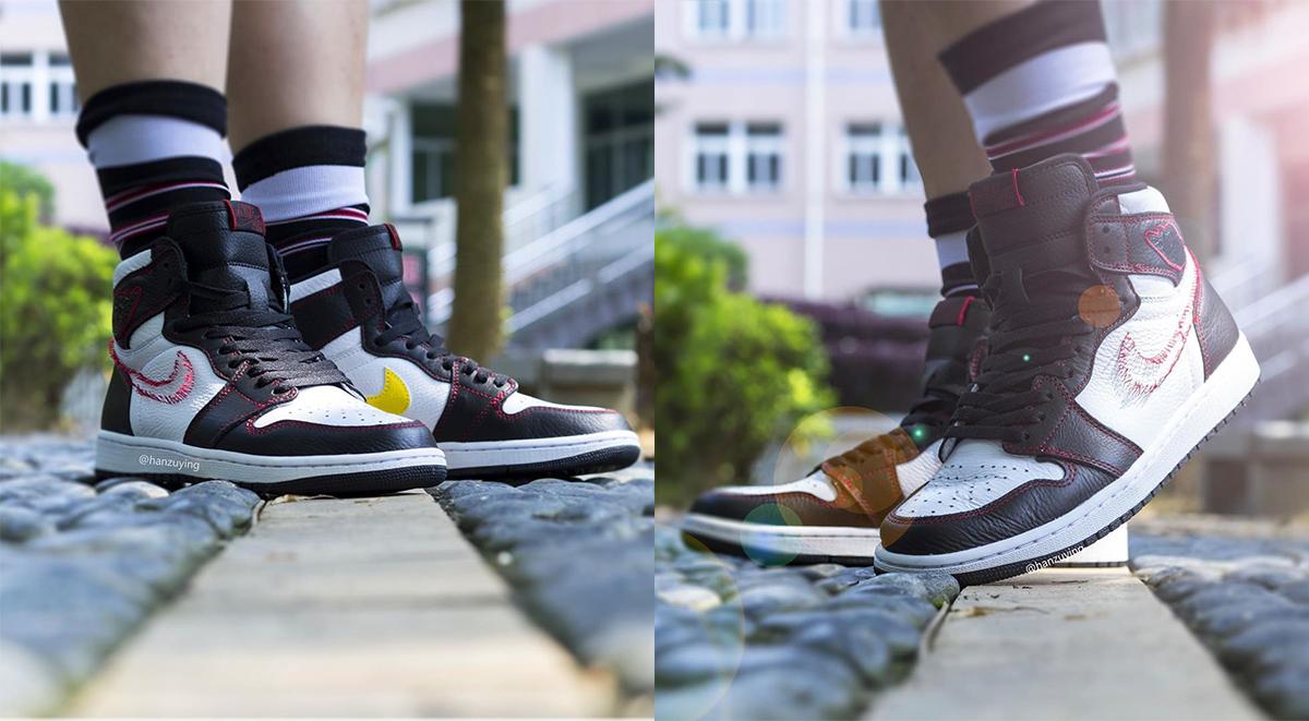 Air Jordan 1 High Og Defiant Tour Yellow On Feet Images Surfaced