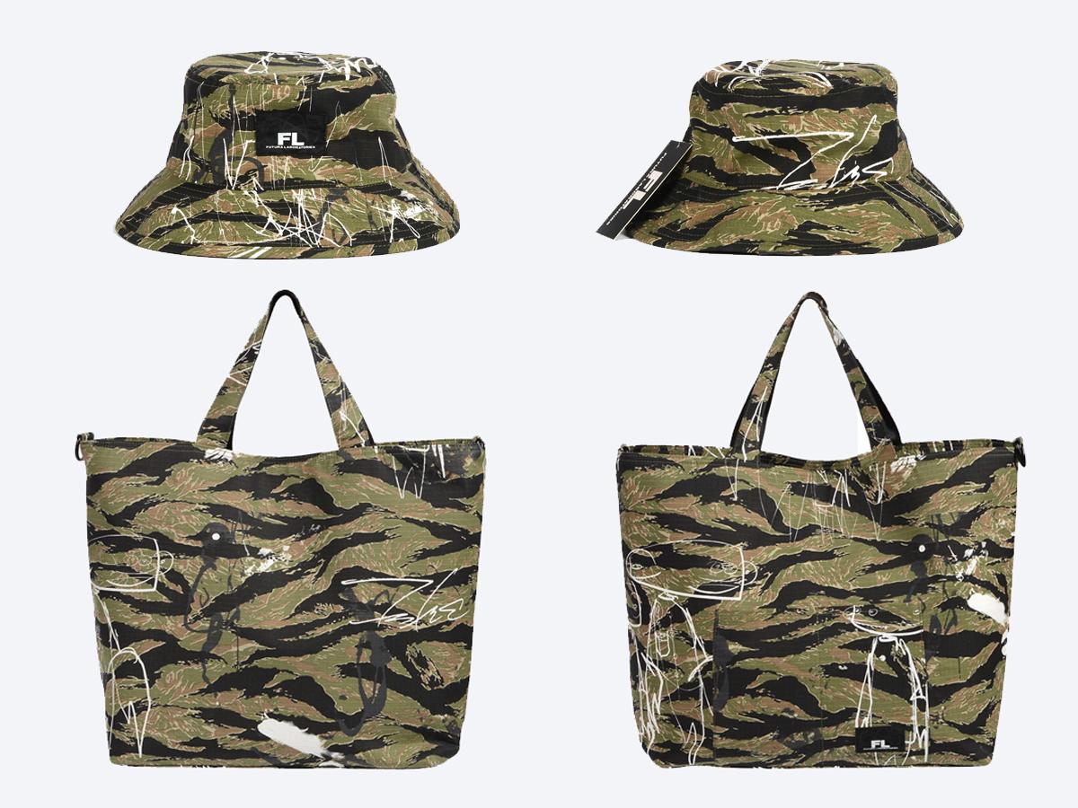 Futura Laboratories Singapore launch bucket hat tote bag