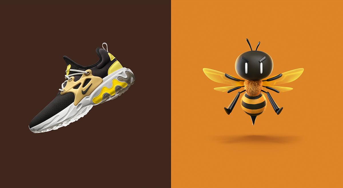 Nike react presto singapore launch brutal honey