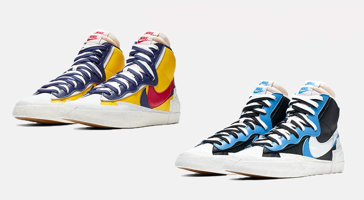 Nike x Sacai Blazer Mid singapore launch