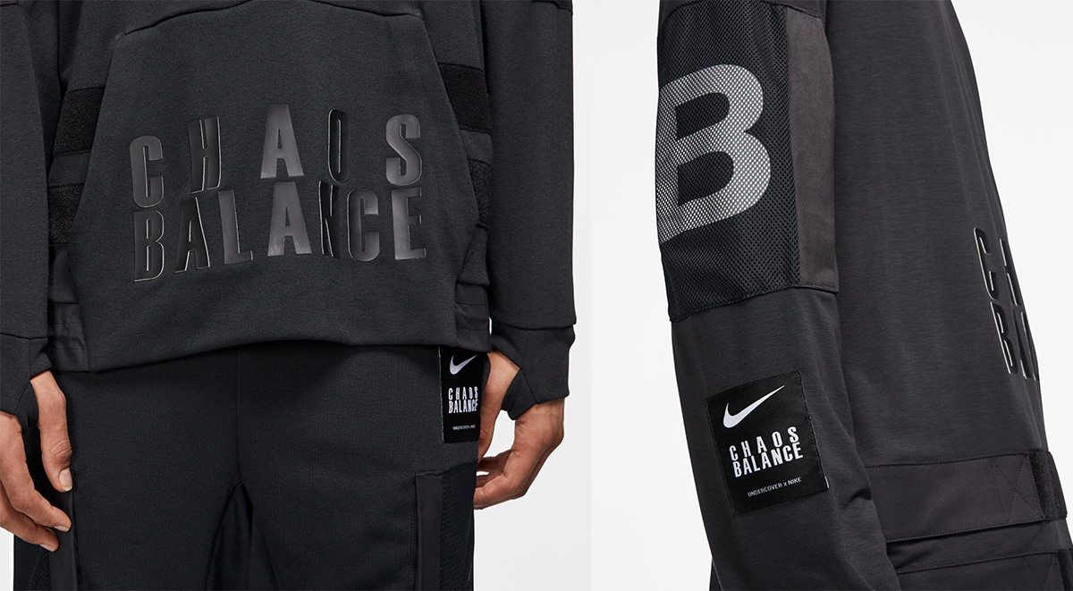 Nike x Undercover collection details