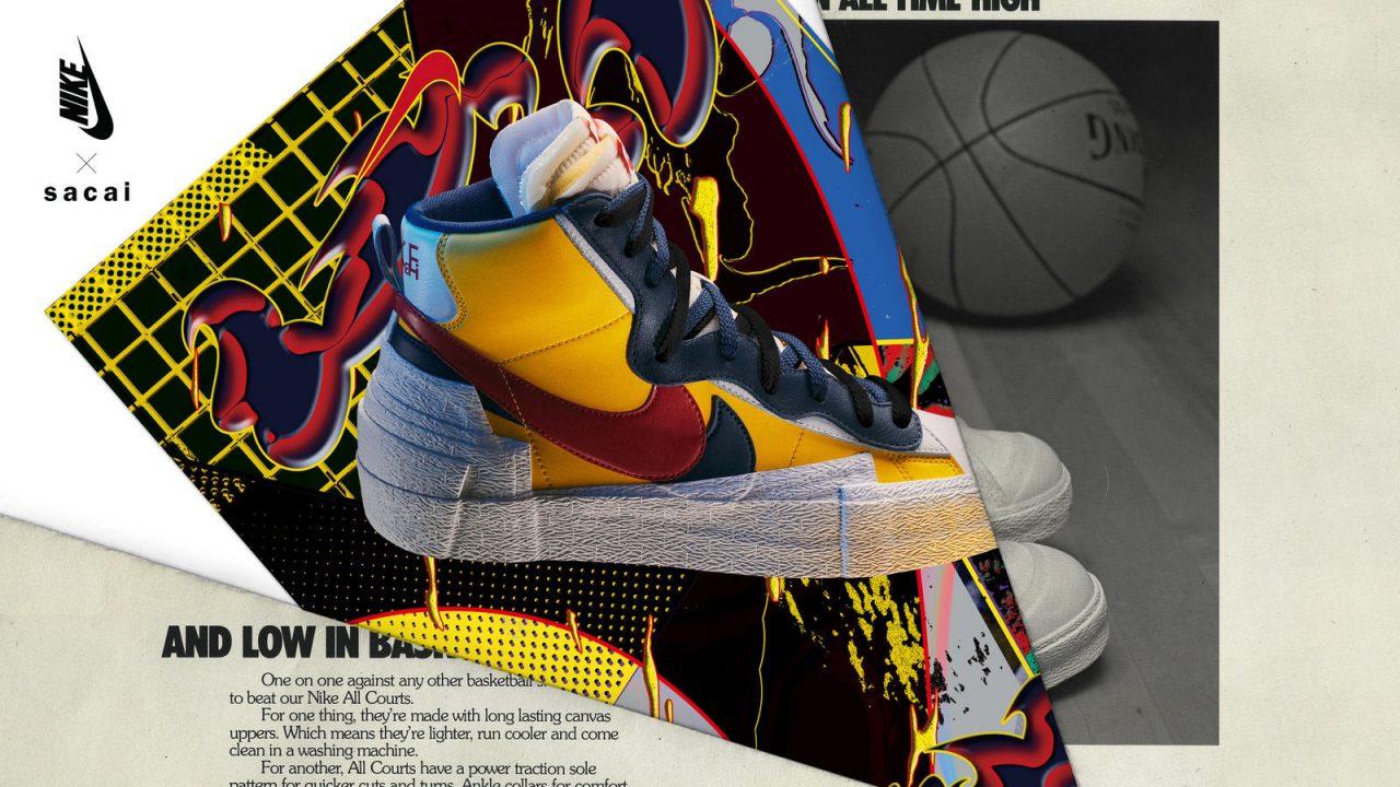 Nike x Sacai Singapore Release Blazer Mid May 30