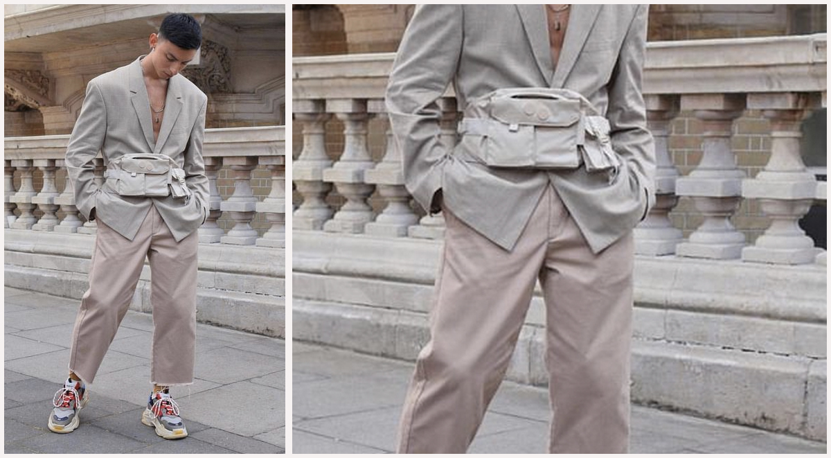 Streetwear Style tips bags