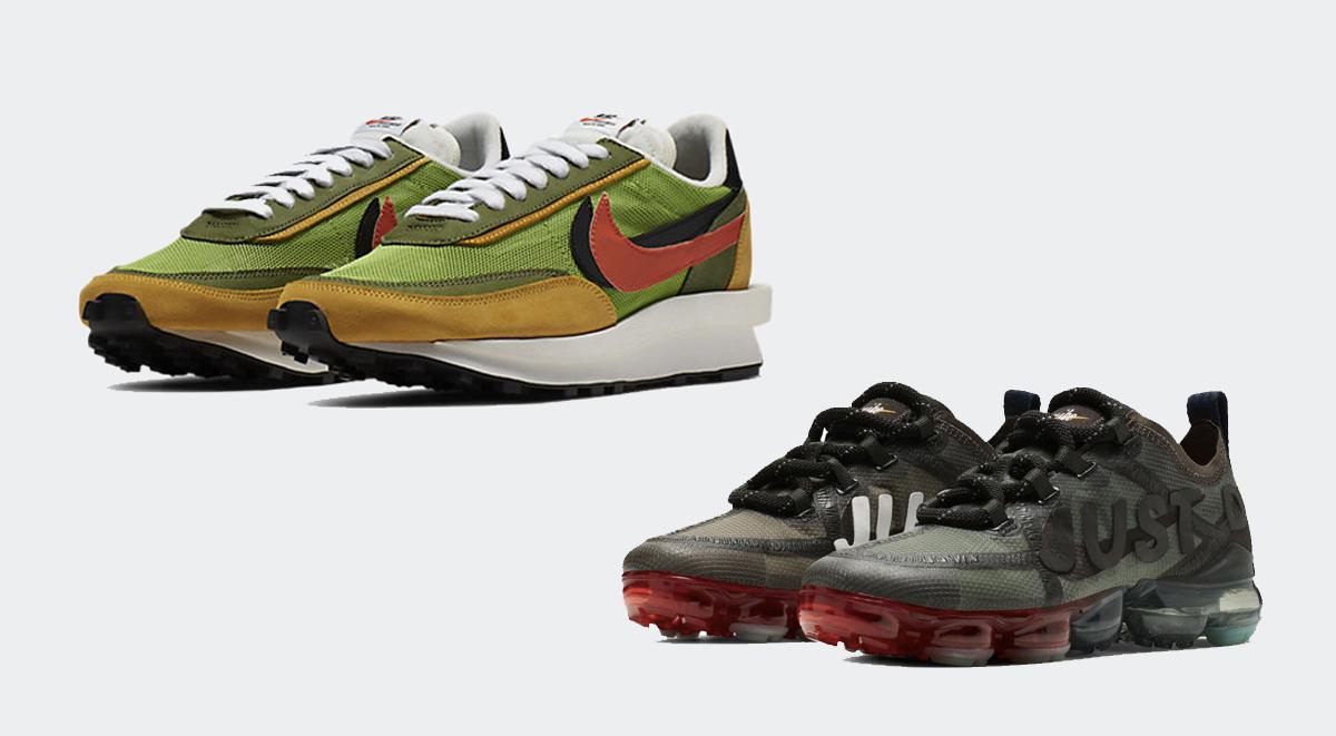footwear drops nike sb x air jordan 1 light bone nike x sacai
