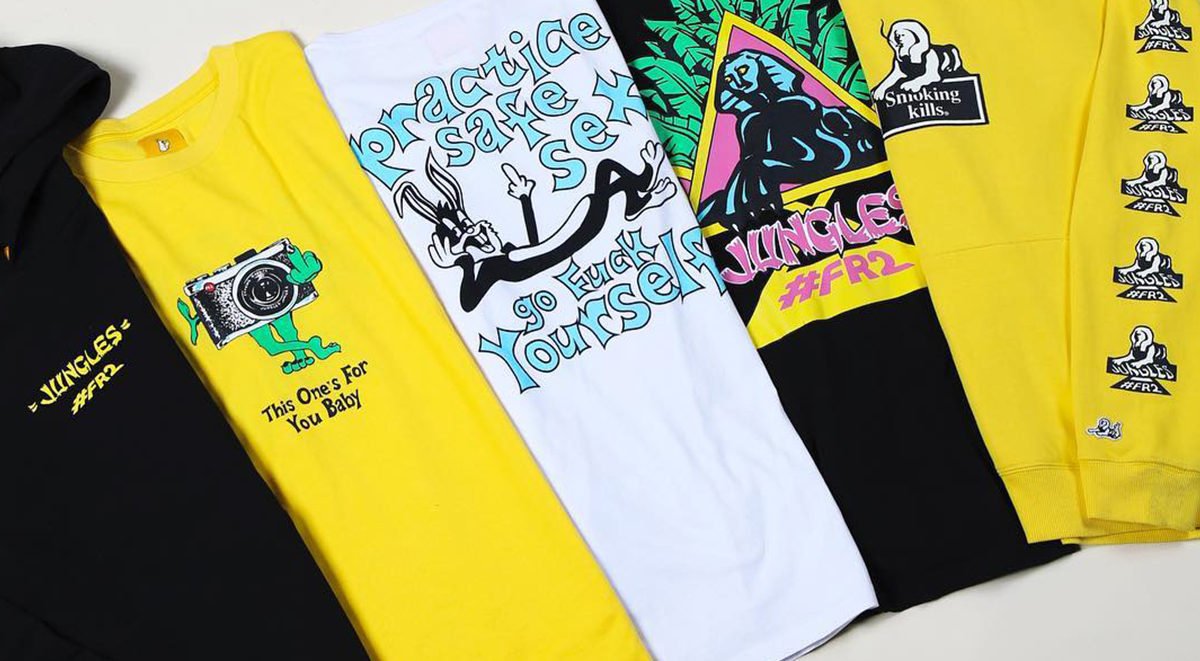 jungle jungles x fxxking rabbits collection