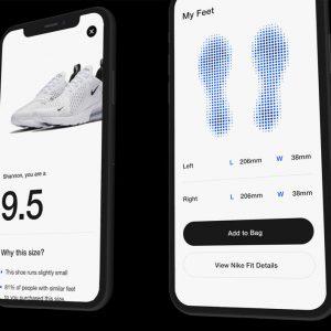 nike fit technology ar shoe sizing