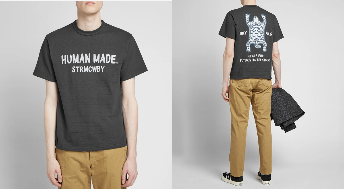 streetwear picks human made polar bear tee
