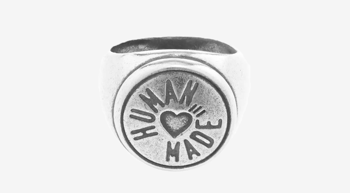 streetwear picks human made ring