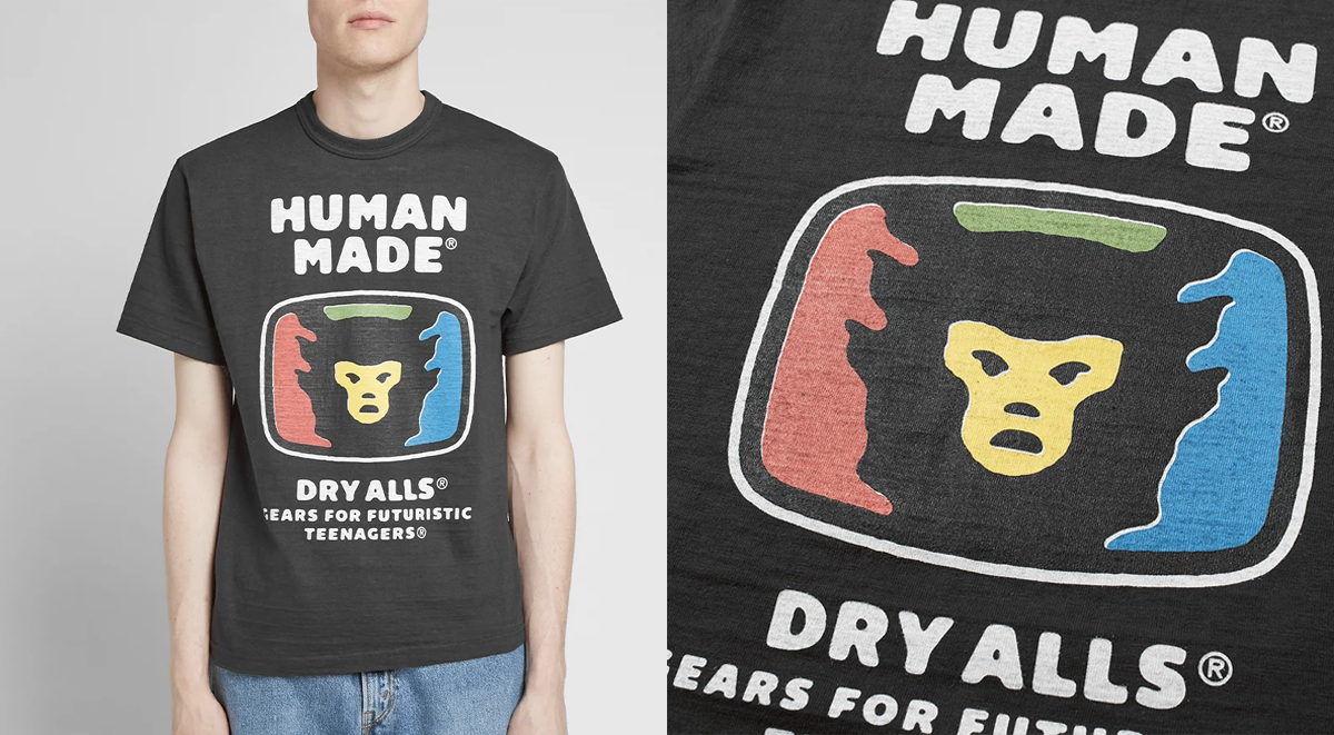 streetwear picks human made tshirt