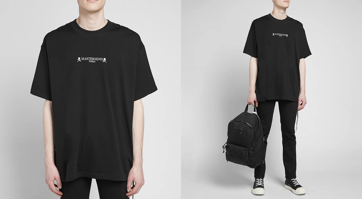 streetwear picks mastermind world logo tshirt