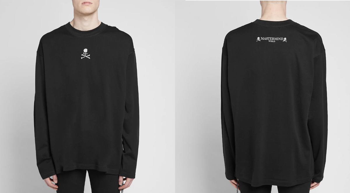 streetwear picks mastermind world long sleeve