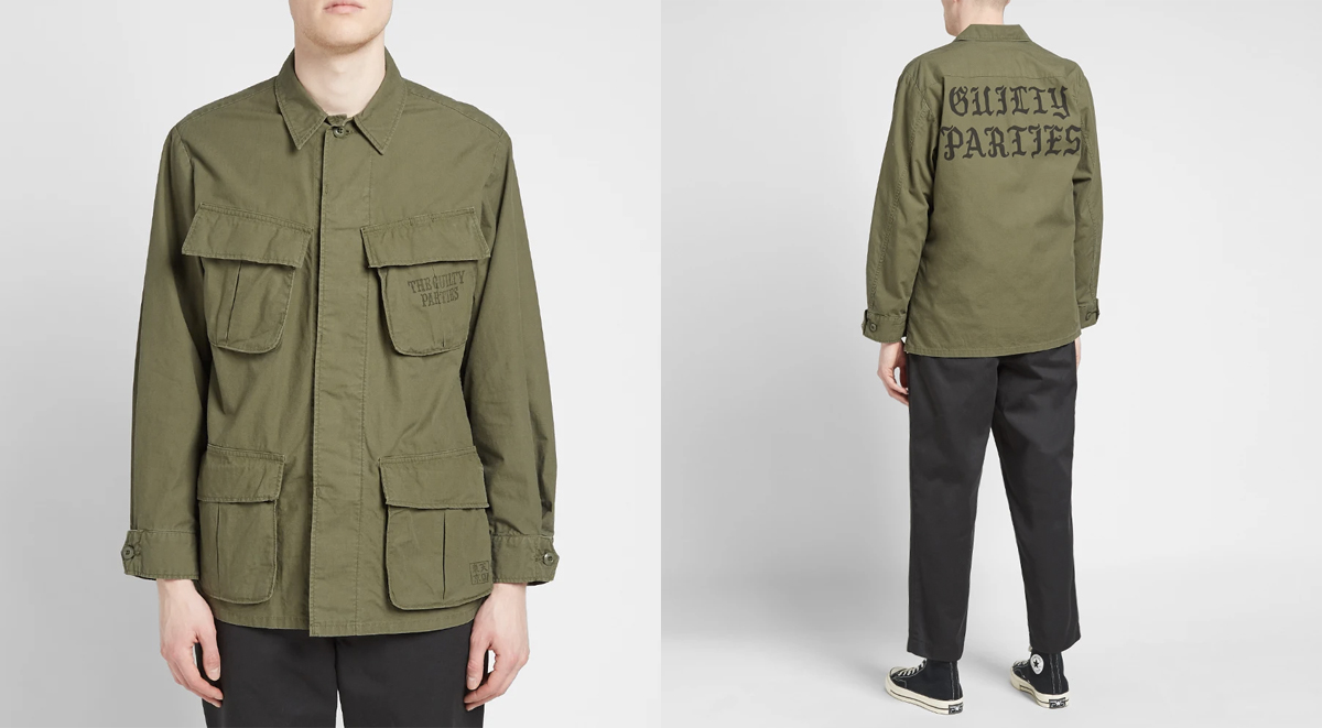streetwear picks wacko maria fatigue jacket