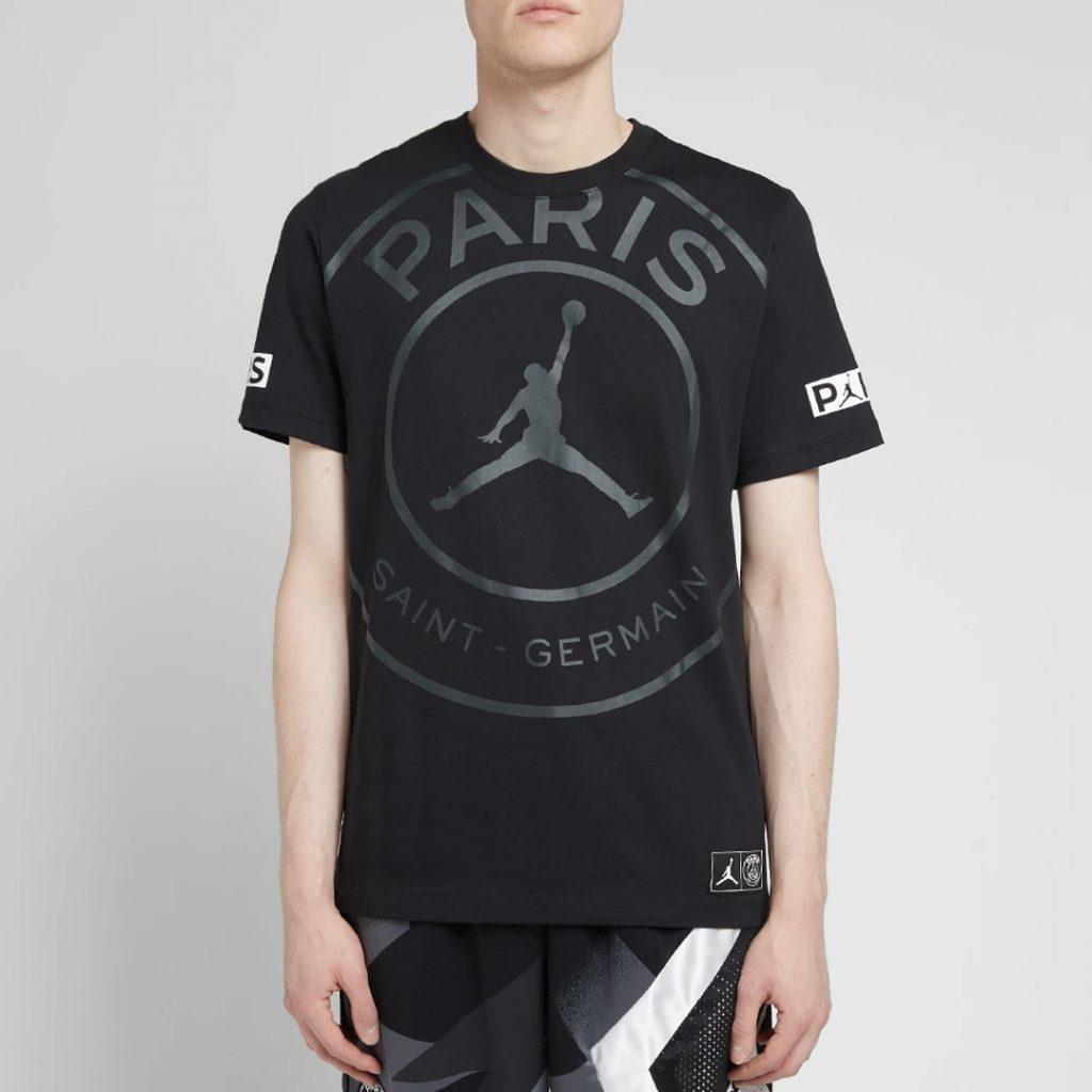 Air Jordan x PSG logo tee