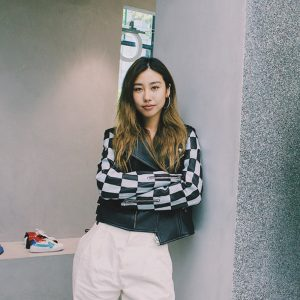 Mae Tan singapore fashion influencer off white