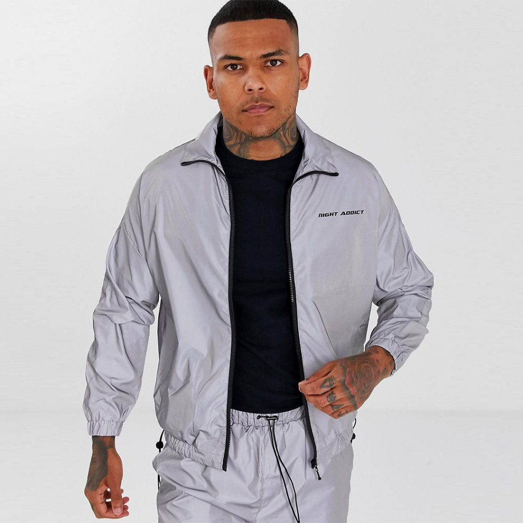 Night Addict reflective jacket Summer Sale 2019 Singapore