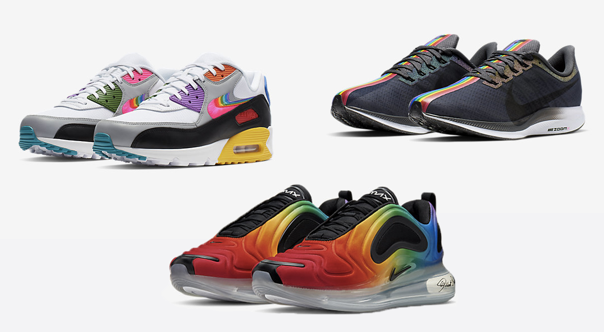 Nike betrue collection pride month footwear singapore releases