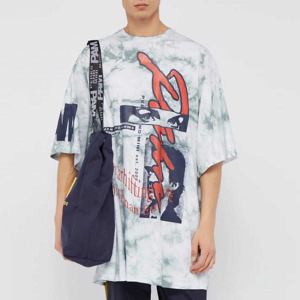 P.A.M. Window Clean tie-dye cotton t-shirt Summer Sale 2019 Singapore