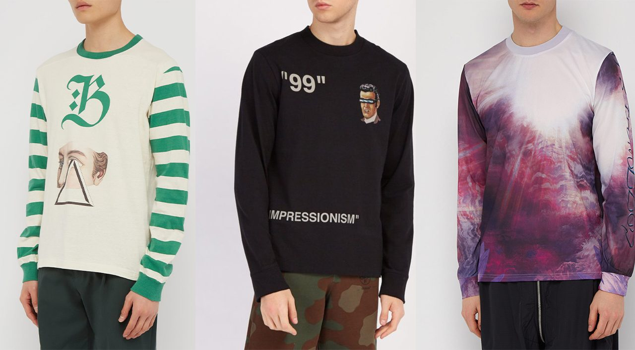 long-sleeved t-shirts compilation