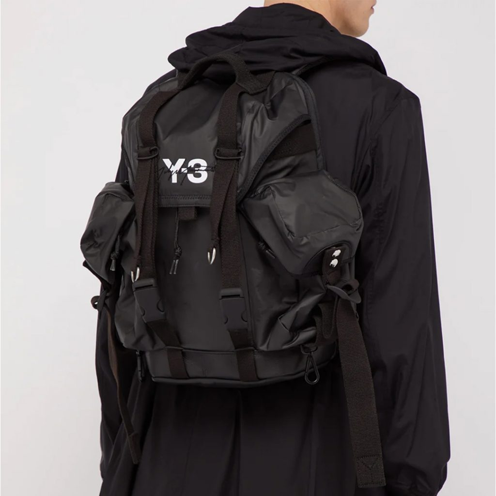 Y-3 XS utility logo-print backpack Summer Sale 2019 Singapore