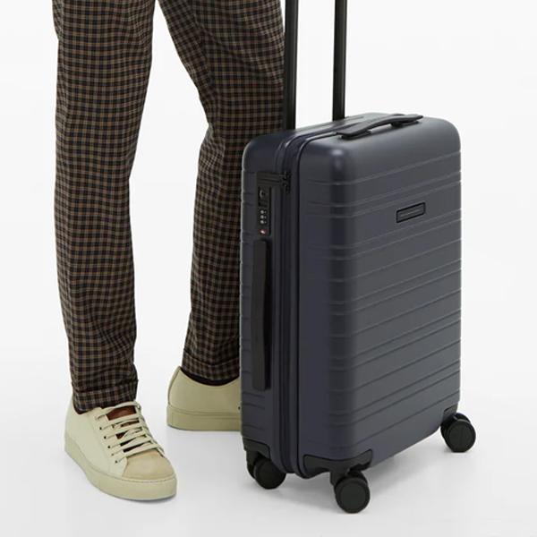 essential travel items Horizn Studios H5 cabin suitcase