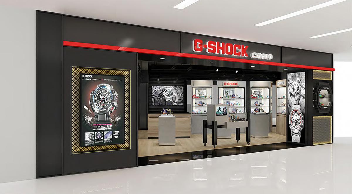 g-shock x clogtwo dw-5600 funan mall singapore release