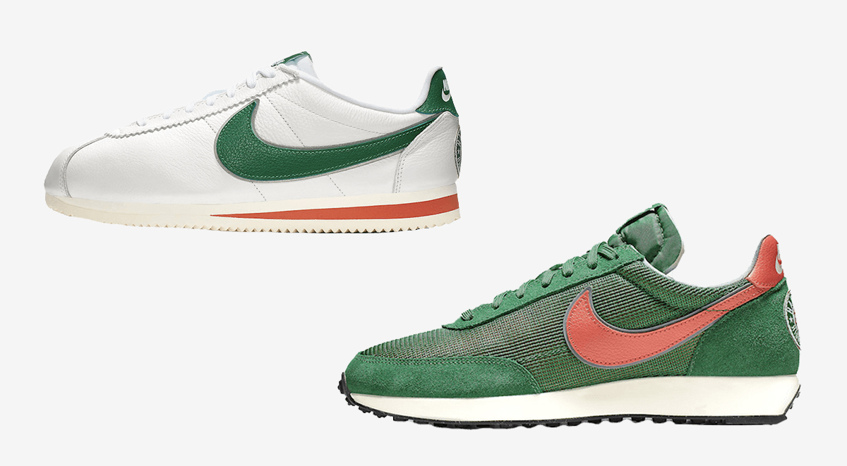 nike x stranger things sneaker collection cortez air tailwind footwear drops