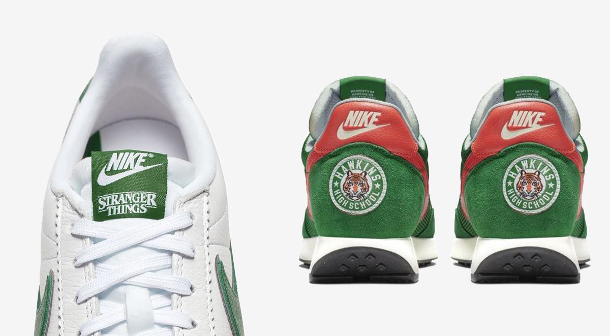 nike x stranger things sneaker footwear drops