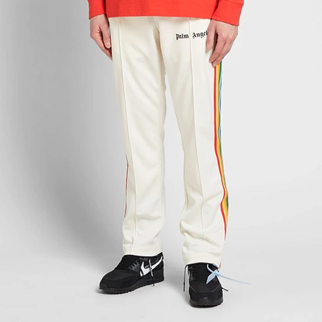 Palm Angels Rainbow Taped Track Pant Summer Sale 2019 Singapore