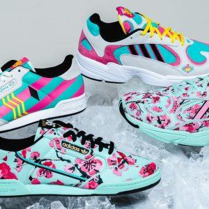 Adidas x Arizona iced tea pop up