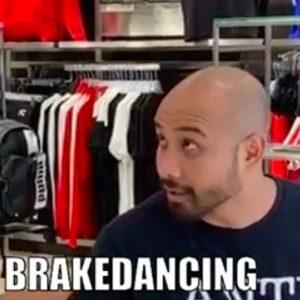 Fakkah Fuzz Puma Store Prank Brakedance