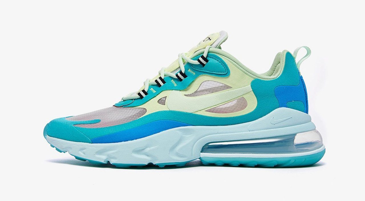 Air Max React 270 Hyper Jade singapore launch