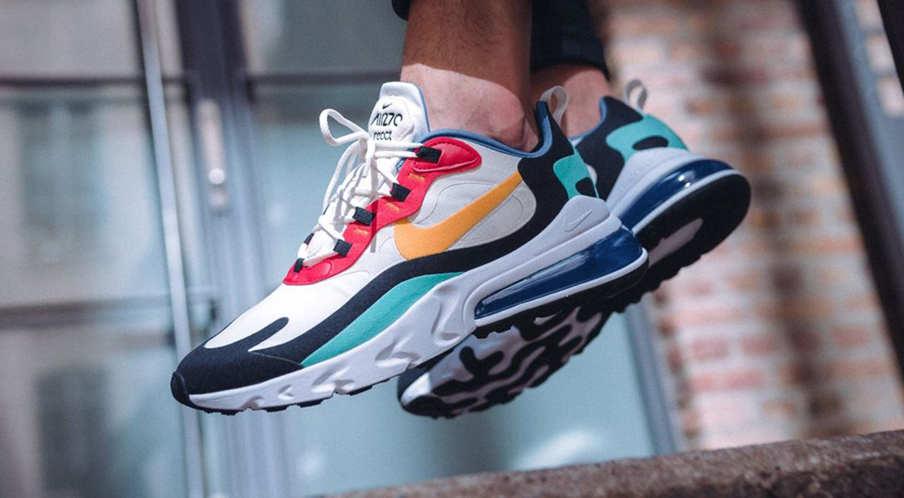 Nike Air Max 270 React Singapore release footwear drops
