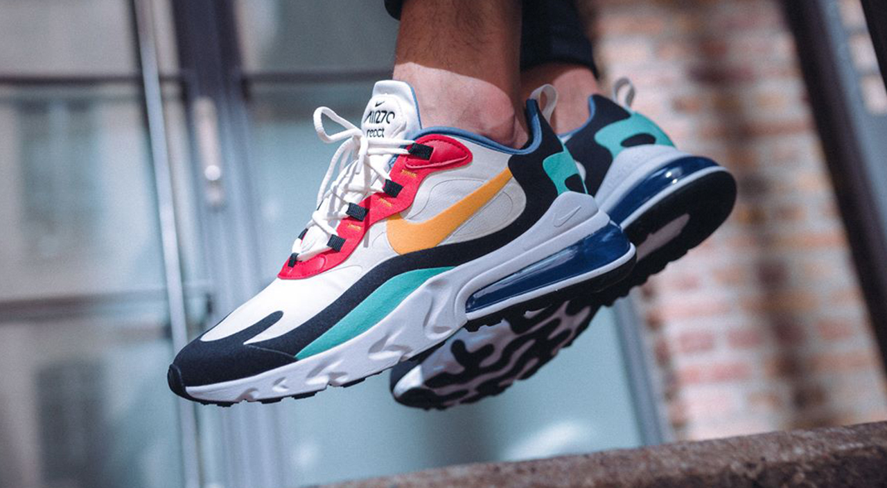 f4a1dd1e9d2 Nike Air Max 270 React Stars in This Week's Footwear Drops Roundup