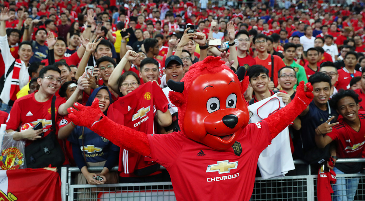 international champions cup 2019 manchester united fans