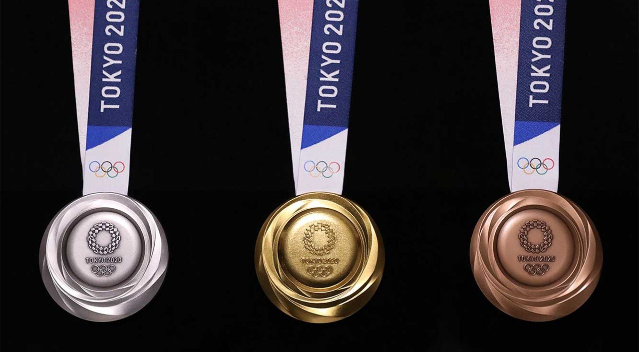 Tokyo 2020 Olympics medal featured