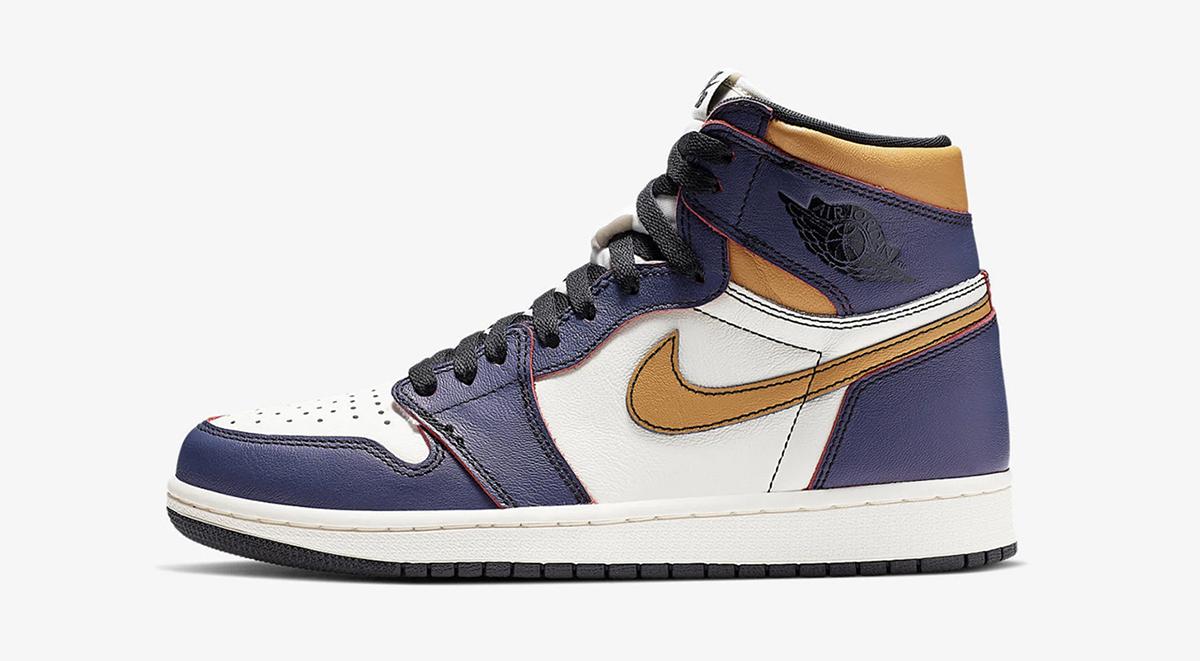 Air Jordan 1 Lakers Air Jordan 1 retro satin black toe singapore launch details footwear drops 2019