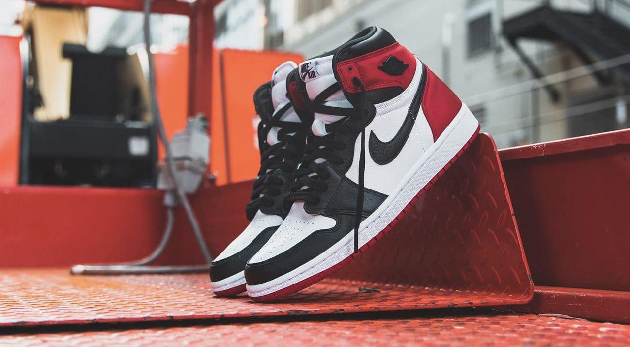 Air Jordan 1 retro satin black toe singapore release 2019